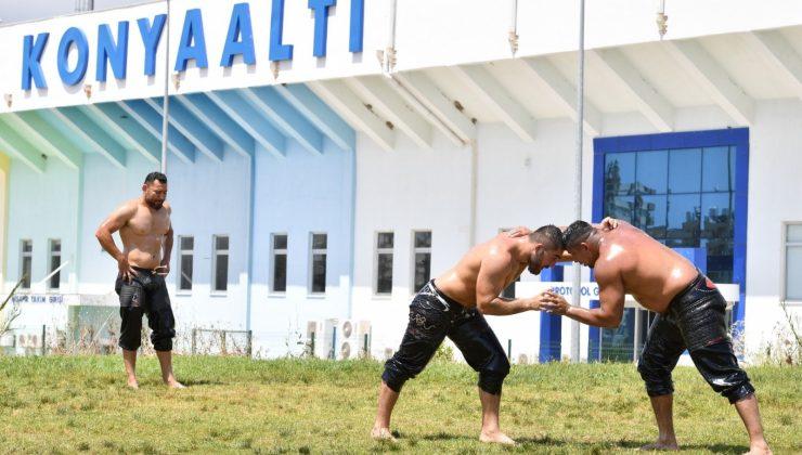 Konyaaltı Belediyesi, Kumluca güreşlerine hazır