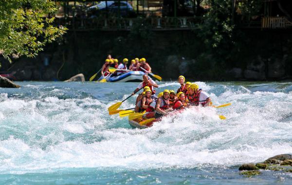 Köprülü Kanyon'da rafting rezervasyonları alınmaya başladı