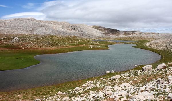 Kuruyan İkiz Göller yağışlarla yeniden hayat buldu