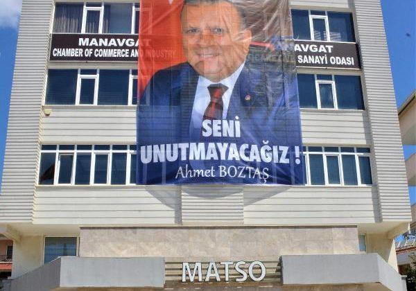 MATSO'dan Başkan Boztaş'a vefa