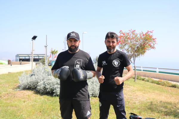(ÖZEL) Boksör Serdar Avcı, dünya şampiyonluğu maçına hazırlanıyor