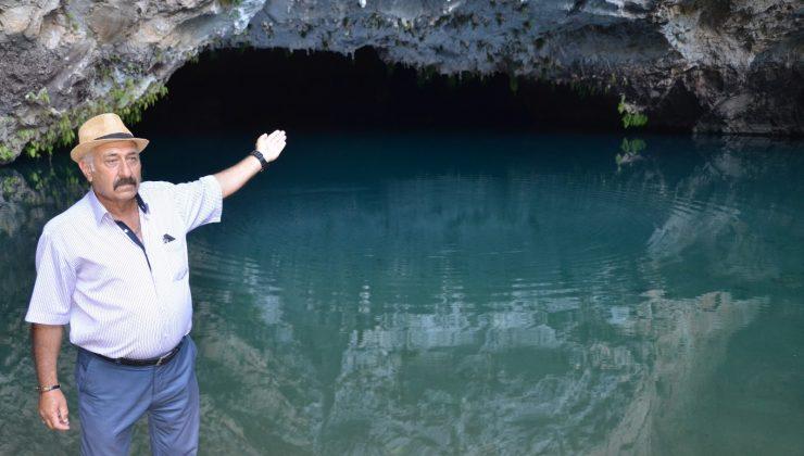 (ÖZEL) Sessizliğe bürünen dünyaca ünlü Altınbeşik Mağarası açılacağı günü bekliyor