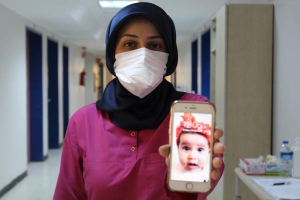 Rabia hemşire: Eve girdiğimde evladıma sarılabileyim istiyorum