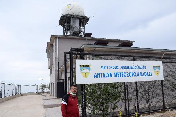 Radar istasyonunun eşsiz manzarası