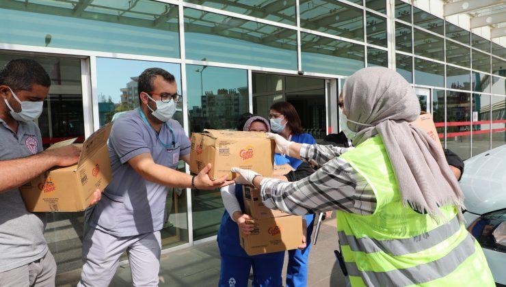Sağlık çalışanlarına kahve desteği
