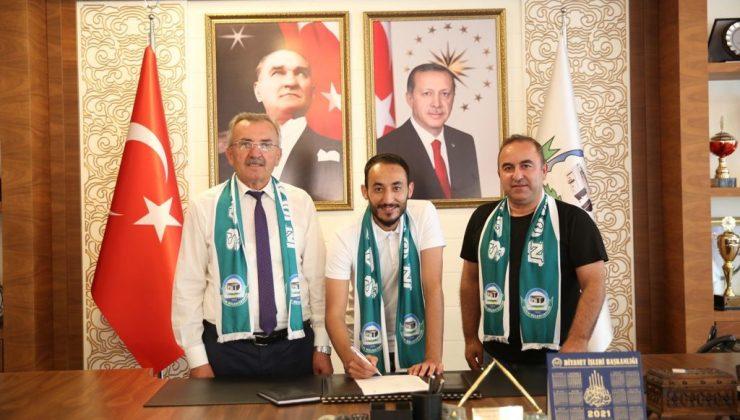 Serik Belediyespor Kaptan Sinan Kalaycı ile yeniden anlaştı