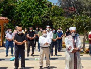 Serik'te, Kudüs şehitleri için cenaze namazı