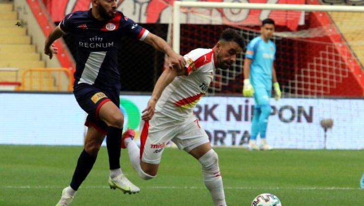 Süper Lig: FTA Antalyaspor: 1 – Göztepe: 1 (İlk yarı)