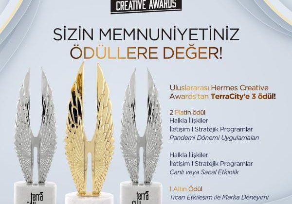 TerraCity'e üç ödül