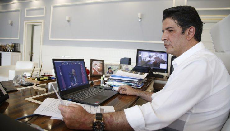 Turgay Genç, Kılıçdaroğlu ile video konferans toplantısına katıldı