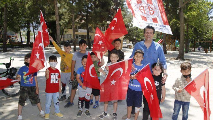 Turgay Genç'in bayram mesaisi
