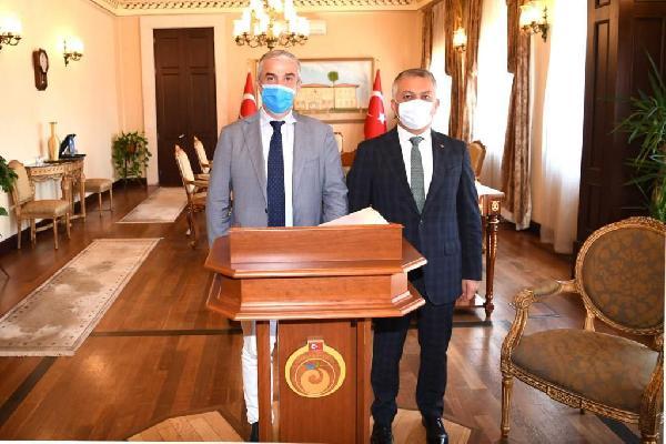 Vali Yazıcı, Danimarka Büyükelçisi Annan'ı ağırladı