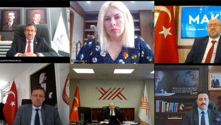 YÖK Başkanı Saraç, BAÜB toplantısına katıldı