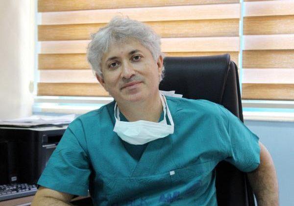 5'inci çift kol naklini yapan Prof. Dr. Özkan: Zorlu fakat başarılı geçti