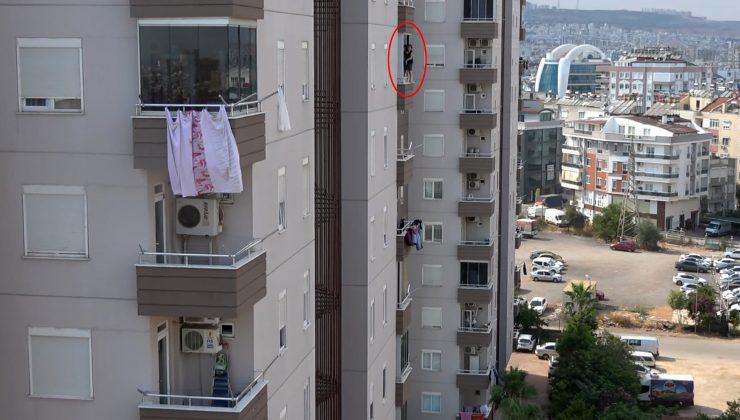 9'uncu katta 'tehlikeli' temizlik