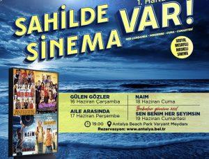 'Sahilde Sinema Var' Ücretsiz Rezervasyon