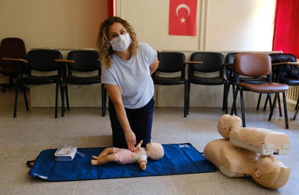 Alanya Belediyesi personeline ilk yardım eğitimi