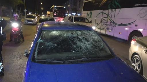 Alkollü sürücü dehşet saçtı: Önce 5 araca ardından 5 yayaya çarpan sürücü gözaltına alındı