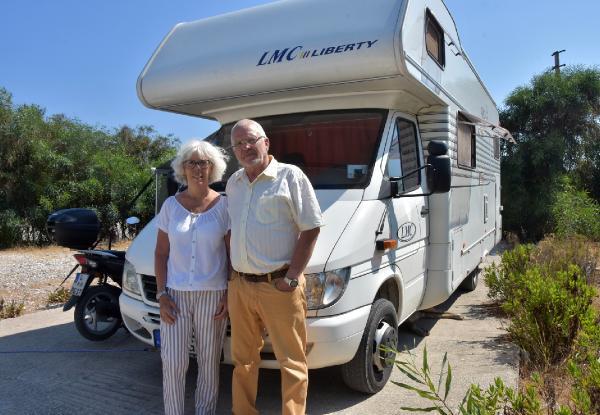 Alman çift, 'aşığız' dedikleri Türkiye'ye 11'nci kez geldi