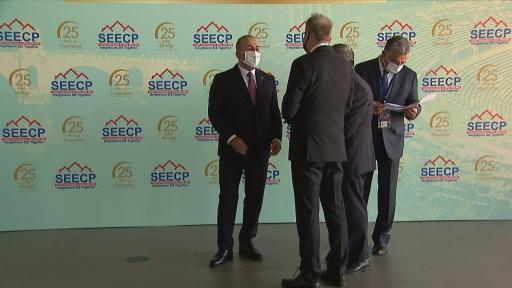 (ANTALYA) Dışişleri Bakanı Mevlüt Çavuşoğlu, Güneydoğu Avrupa İşbirliği Süreci (GDAÜ) Devlet ve Hükümet Başkanları Zirvesinde konuştu
