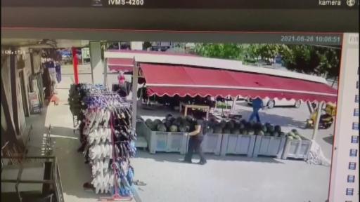 Antalya'da doktorun talihsiz ölümü kamerada