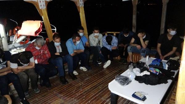 Antalya'dan Kıbrıs'a geçmeye çalışan kaçaklar yakalandı