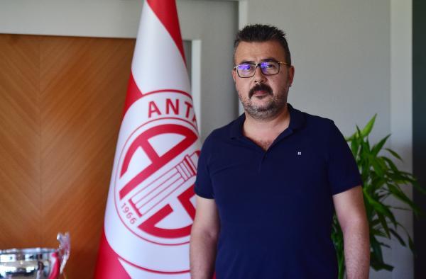 Antalyaspor Başkanı Aziz Çetin: Hedefimiz ilk 5'e oynamak