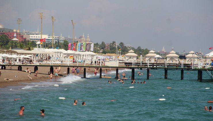 Antalya'ya akan Rus turistlerin ilk adresi deniz  oldu