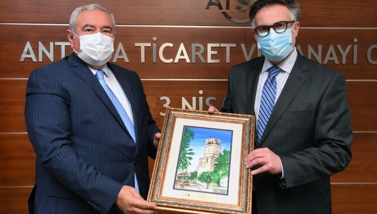 """ATSO Başkanı Çetin: """"Romanya ile her türlü işbirliğine açığız"""""""