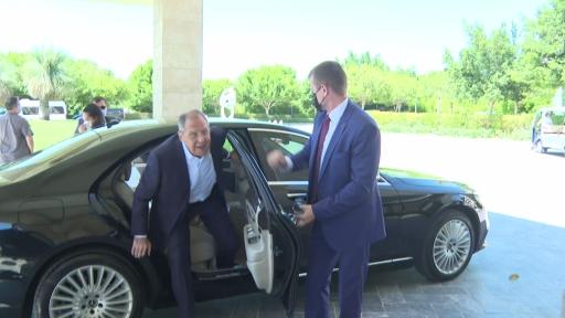 Bakan Çavuşoğlu ve Lavrov bir araya geldi