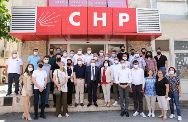 Başkan Böcek'ten CHP'ye 'kırgın değilim' mesajı