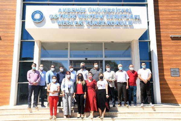 Başkan Topaloğlu'ndan, Göynük Mutfak Sanatları MYO'ya ziyaret