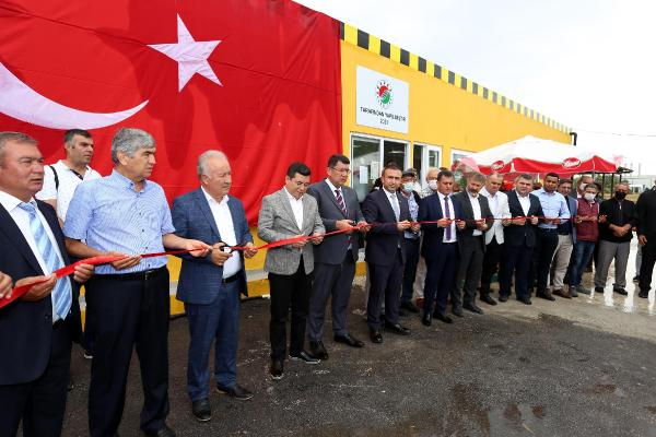 Başkan Tütüncü'den Antalya Havalimanı taksicilerine yeni lokal