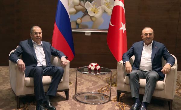 Çavuşoğlu ve Lavrov'dan 'Kanal İstanbul' açıklaması