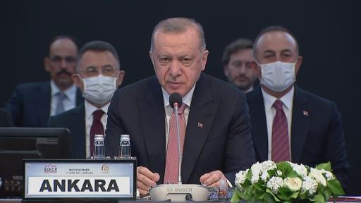 Cumhurbaşkanı Erdoğan, Güneydoğu Avrupa İşbirliği Süreci Devlet ve Hükümet Başkanları Zirvesinde konuştu