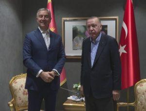 Cumhurbaşkanı Erdoğan, Karadağ Cumhurbaşkanı Milo Cukanoviç'le görüştü