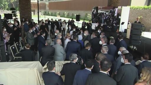 Cumhurbaşkanı Erdoğan, NG Phaselis Bay'ın açılış töreninde konuştu