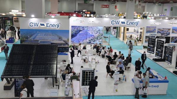 CW Enerji fuarlarda ilgi gördü