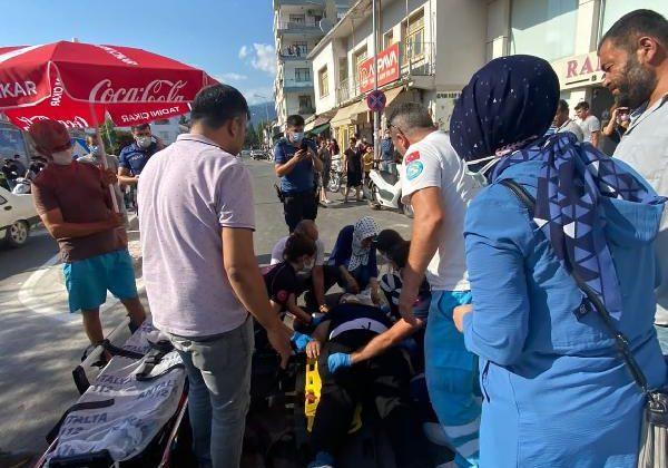 Demre'de kaza: 1 yaralı