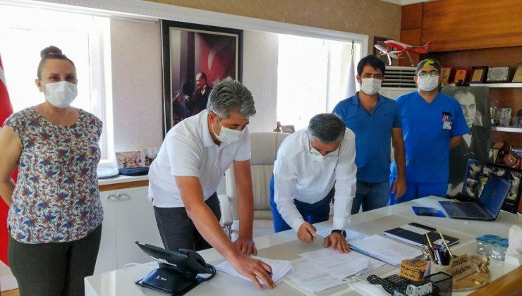Deniz Kaplumbağalarını koruma, izleme ve tanıtım faaliyetleri işbirliği protokolü imzalandı