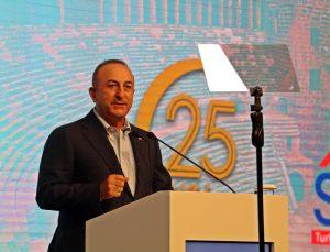 """Dışişleri Bakanı Çavuşoğlu: """"Azerbaycan'ın toprak ve sınır bütünlüğüne herkesin saygı duyması lazım"""""""
