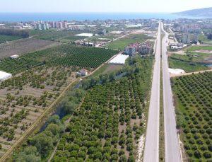 Finike çevre yolu projeden çıkartıldı