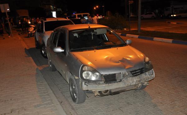 Gazipaşa'da otomobille motosiklet çarpıştı: 2 yaralı