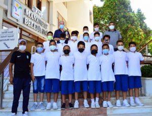 Genç yıldızlardan Manavgat Belediyesi'ne ziyaret