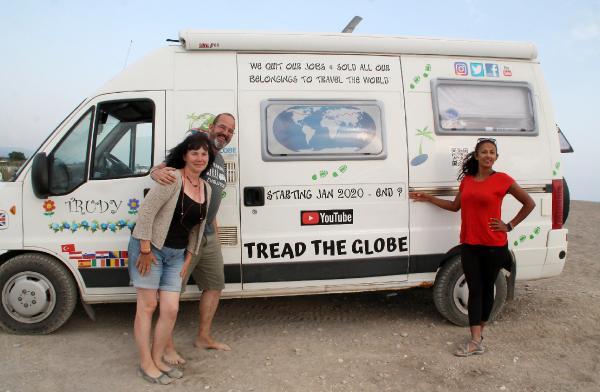 İngiliz gezgin çiftten caretta carettalar için yardım kampanyası