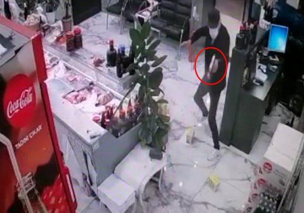 İş yerinde silahlı saldırıya uğrayan kasap, yaralandı