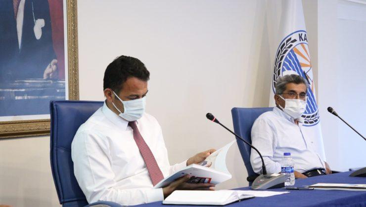 Kaş Belediyesi Haziran ayı meclis toplantısı yapıldı