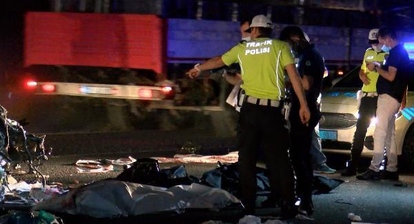 Kazada ölen 2'si kuzen 3 kadın, arkadaşlarıyla gezmeye çıkmış