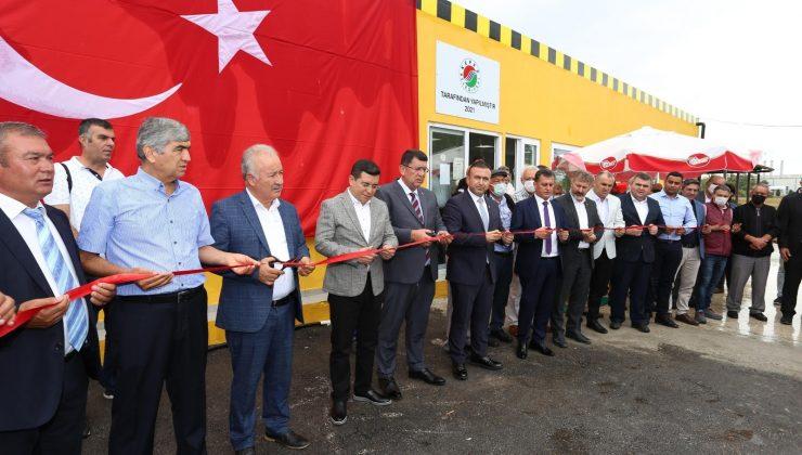 Kepez Belediyesi'nden Antalya Havalimanı Taksi Durağı'na ek bina