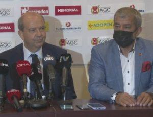 KKTC Cumhurbaşkanı Ersin Tatar, Antalya Gazeteciler Cemiyeti basın toplantısında konuştu